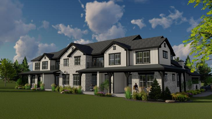 Harmony Townhomes:Rendering