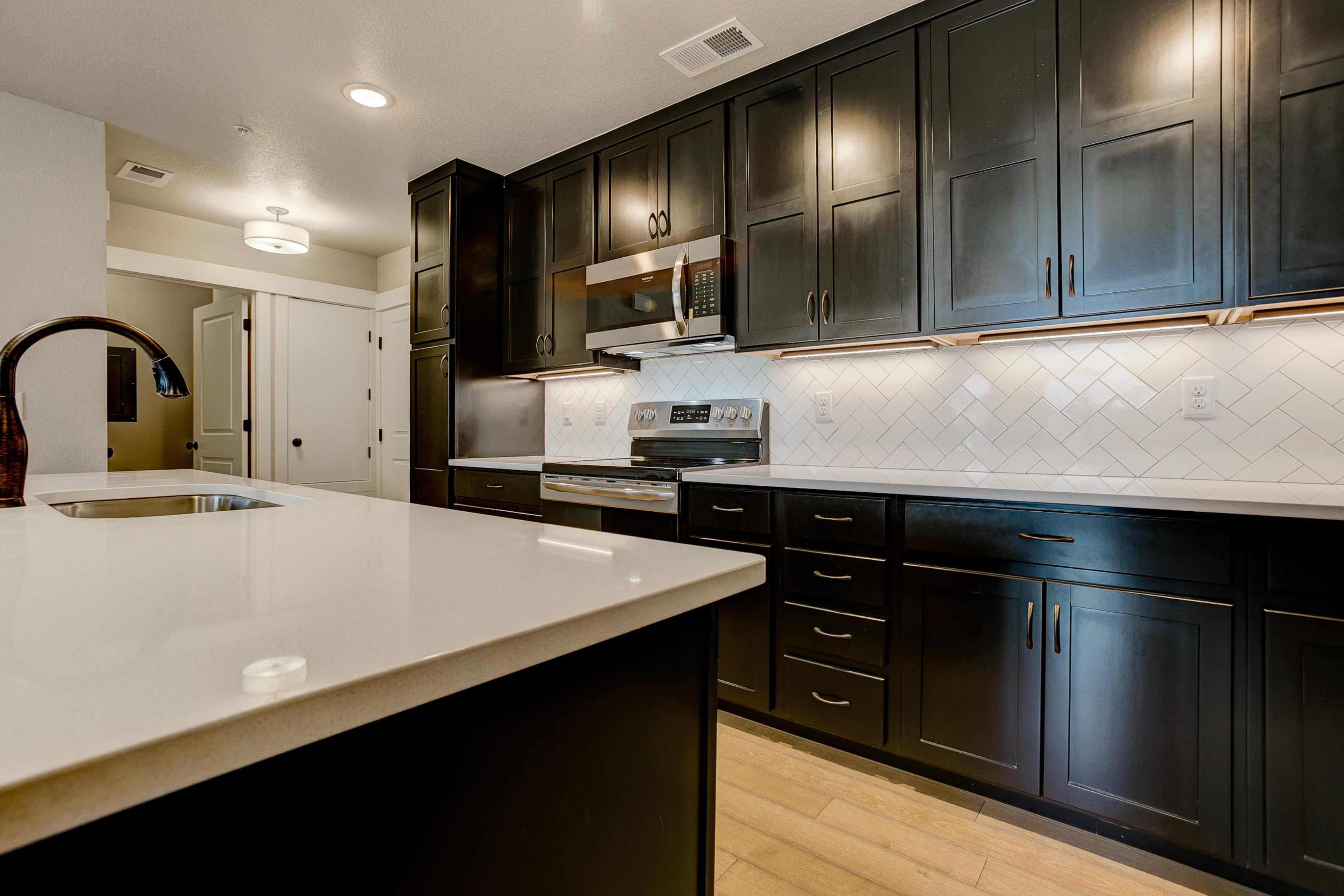 Kitchen featured in the Harvard By Landmark Homes  in Fort Collins-Loveland, CO