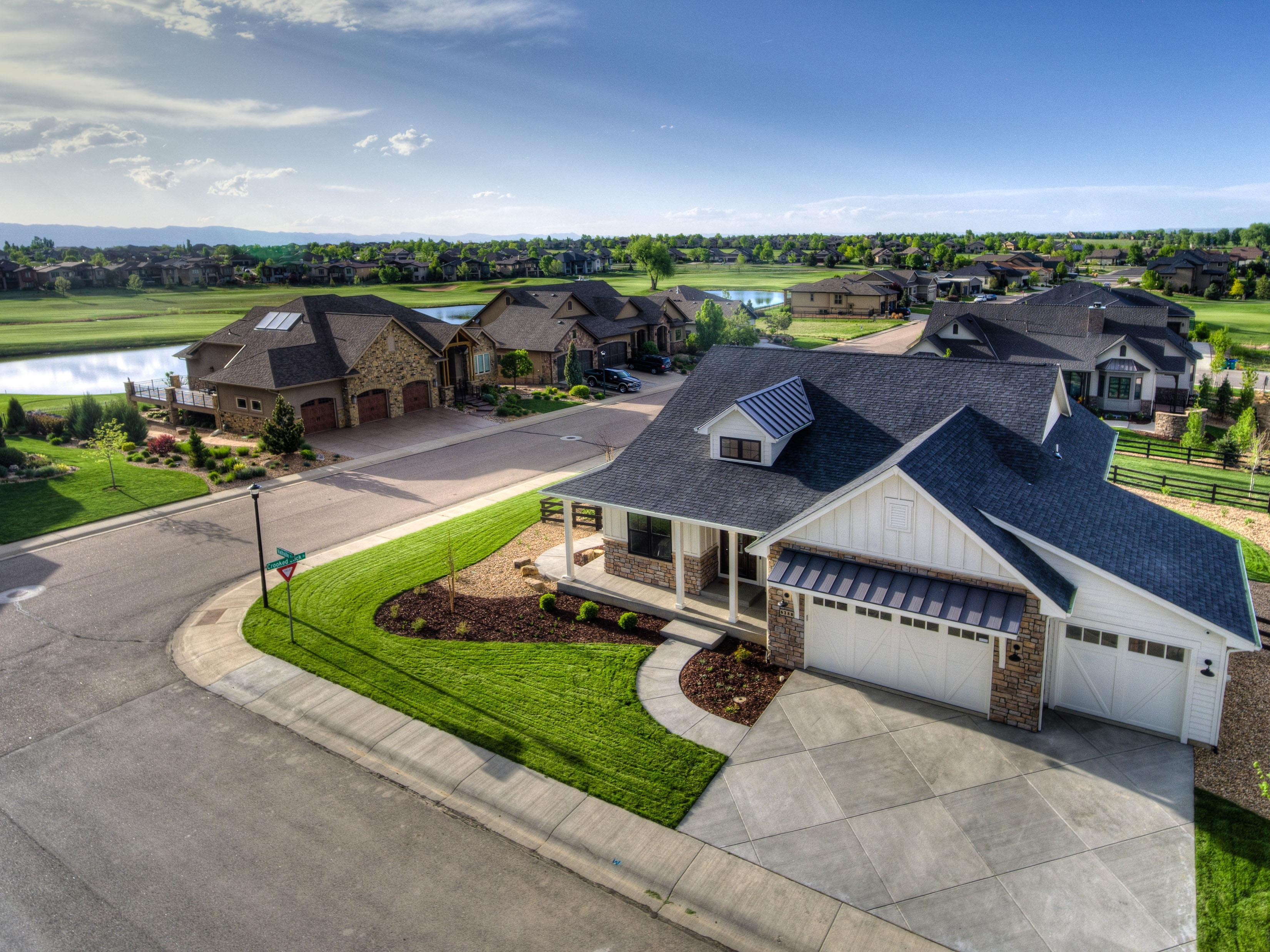 Exterior featured in the Aspen By Landmark Homes  in Greeley, CO