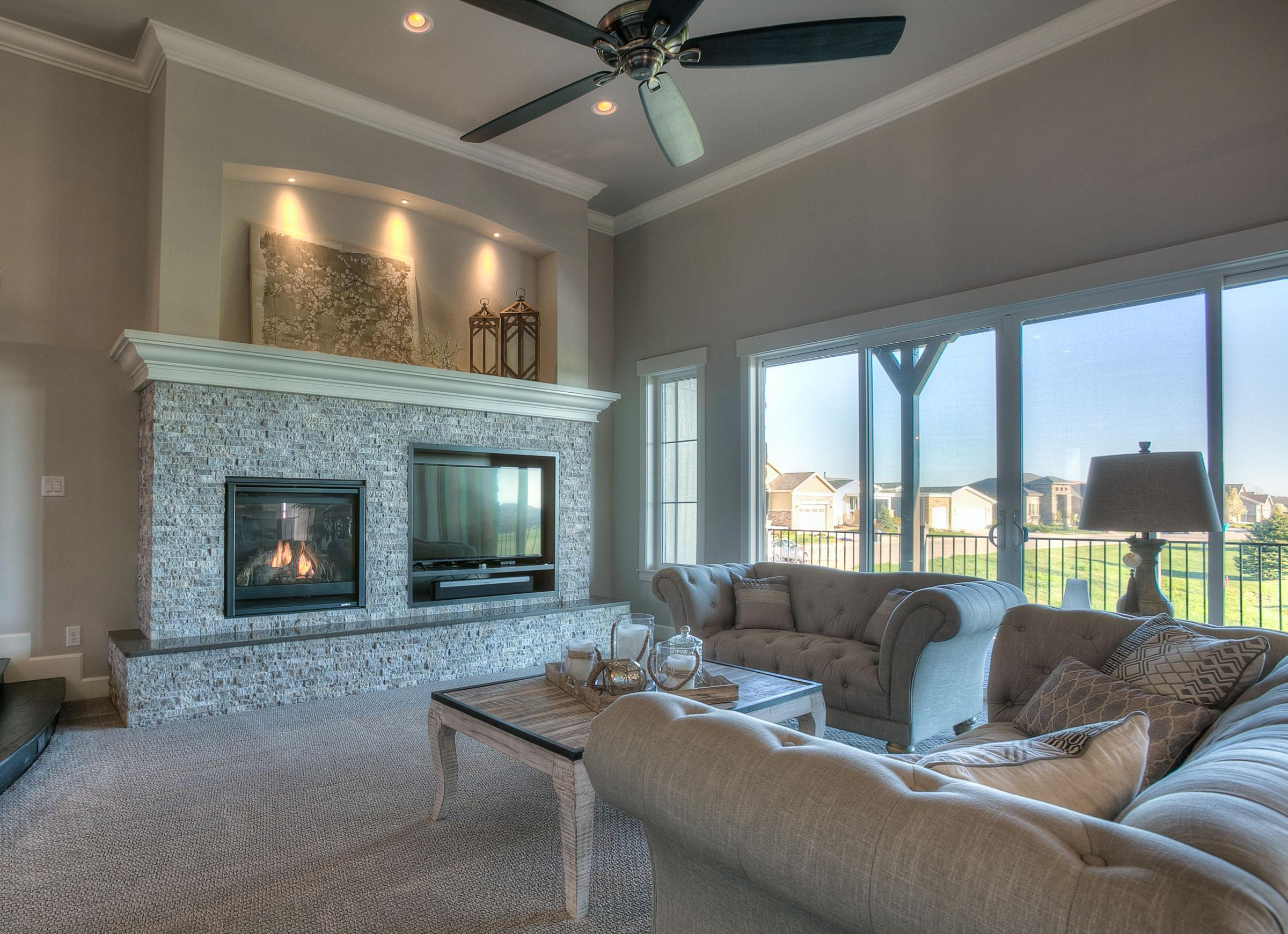 Living Area featured in the Castle Pines By Landmark Homes  in Greeley, CO