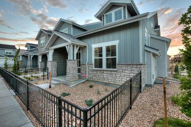 Ambrose The Towns At Lakes Centerra Loveland Colorado Landmark Homes