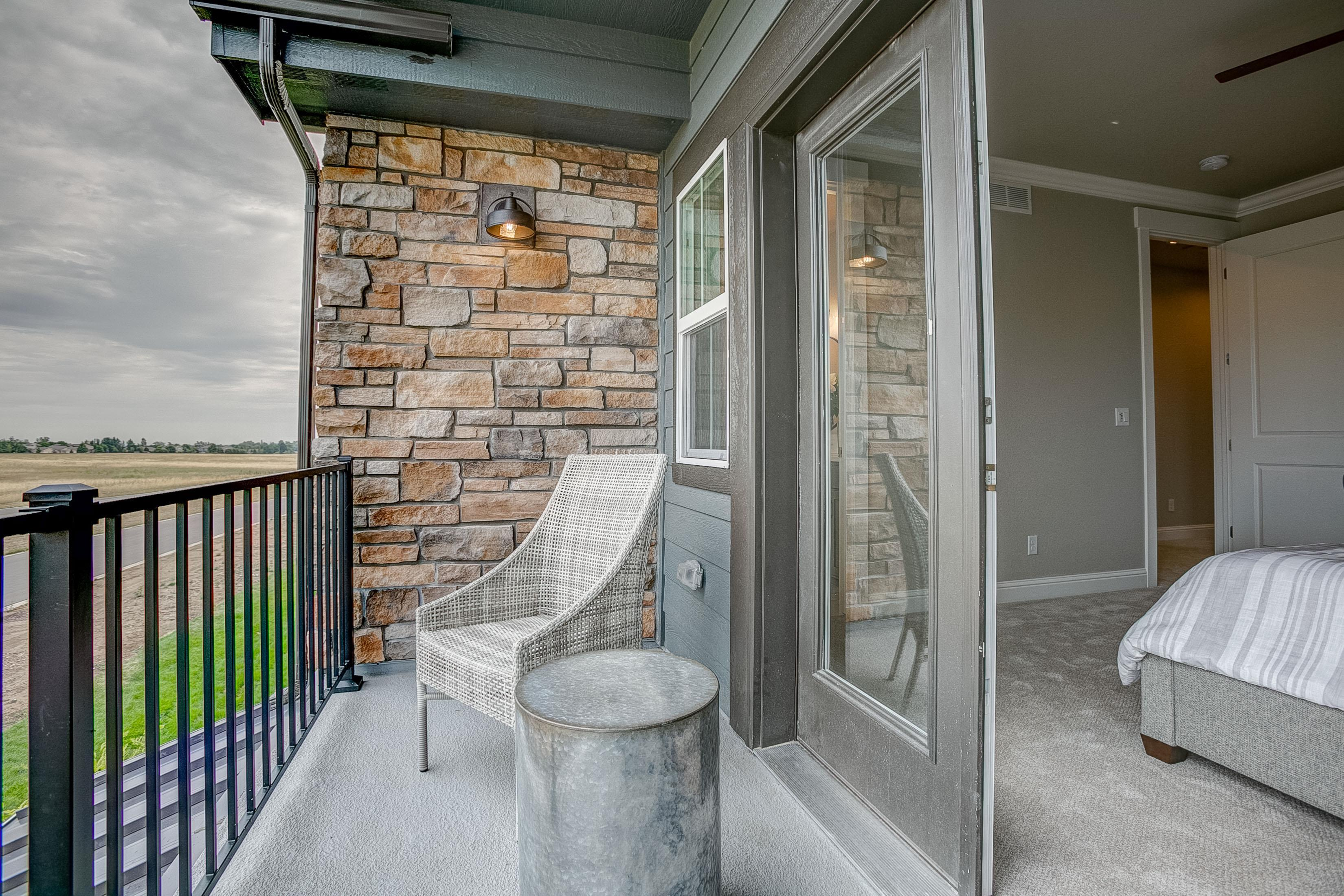 Exterior featured in the Valencia By Landmark Homes  in Fort Collins-Loveland, CO