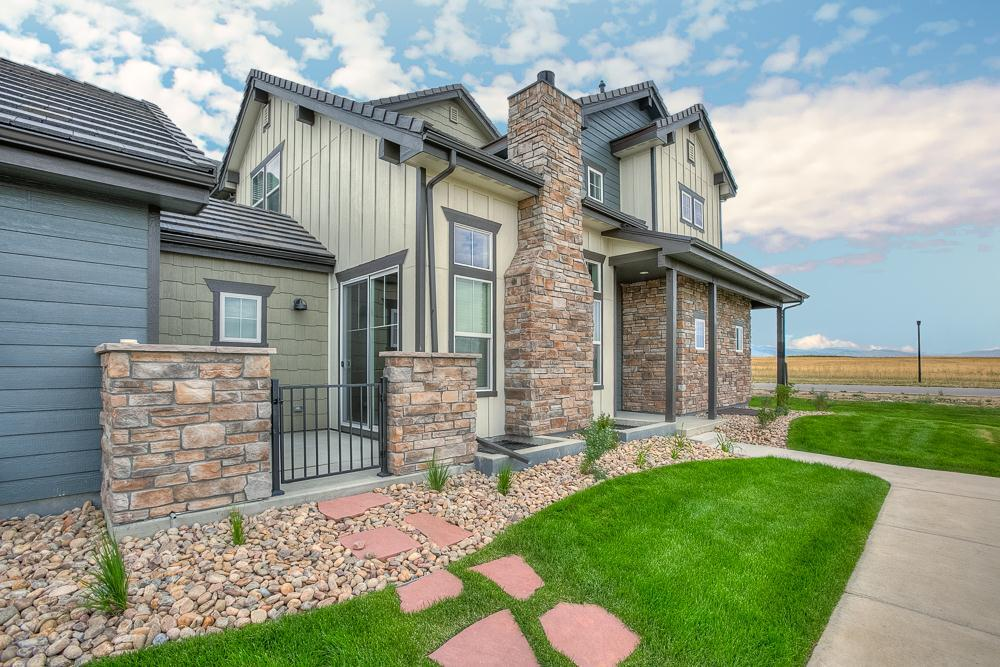 Exterior featured in the Summerlin By Landmark Homes  in Fort Collins-Loveland, CO