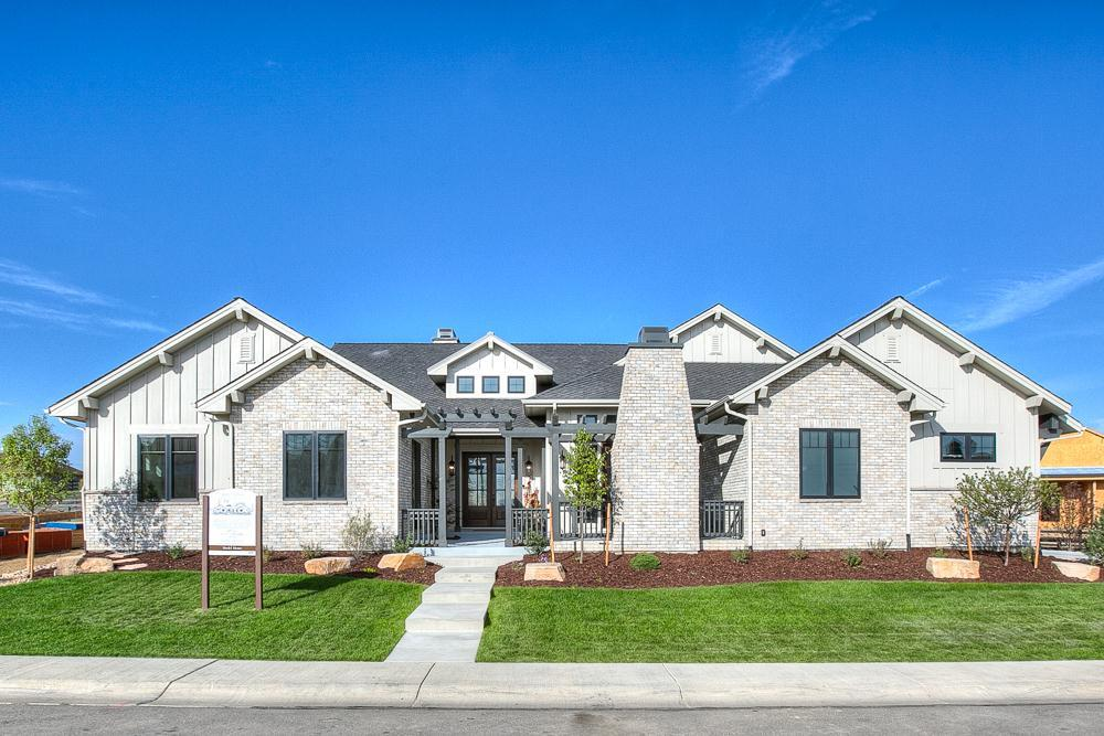 Exterior featured in the Ravenna By Landmark Homes  in Greeley, CO