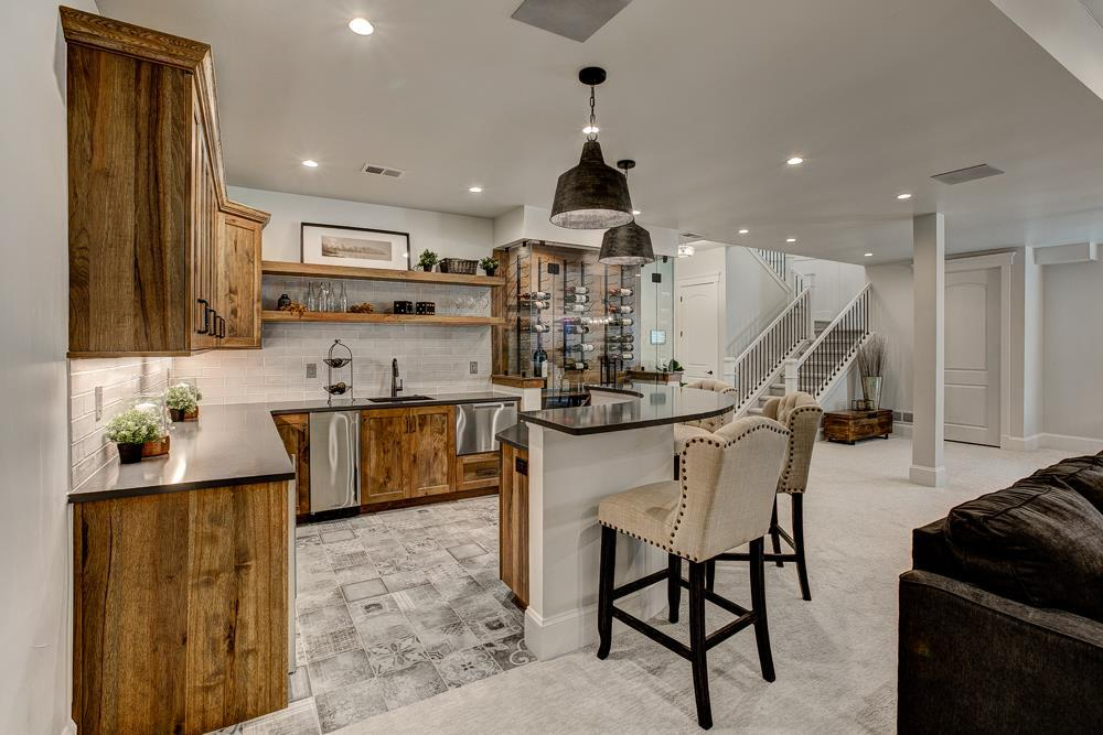 Kitchen featured in the Ravenna By Landmark Homes  in Greeley, CO