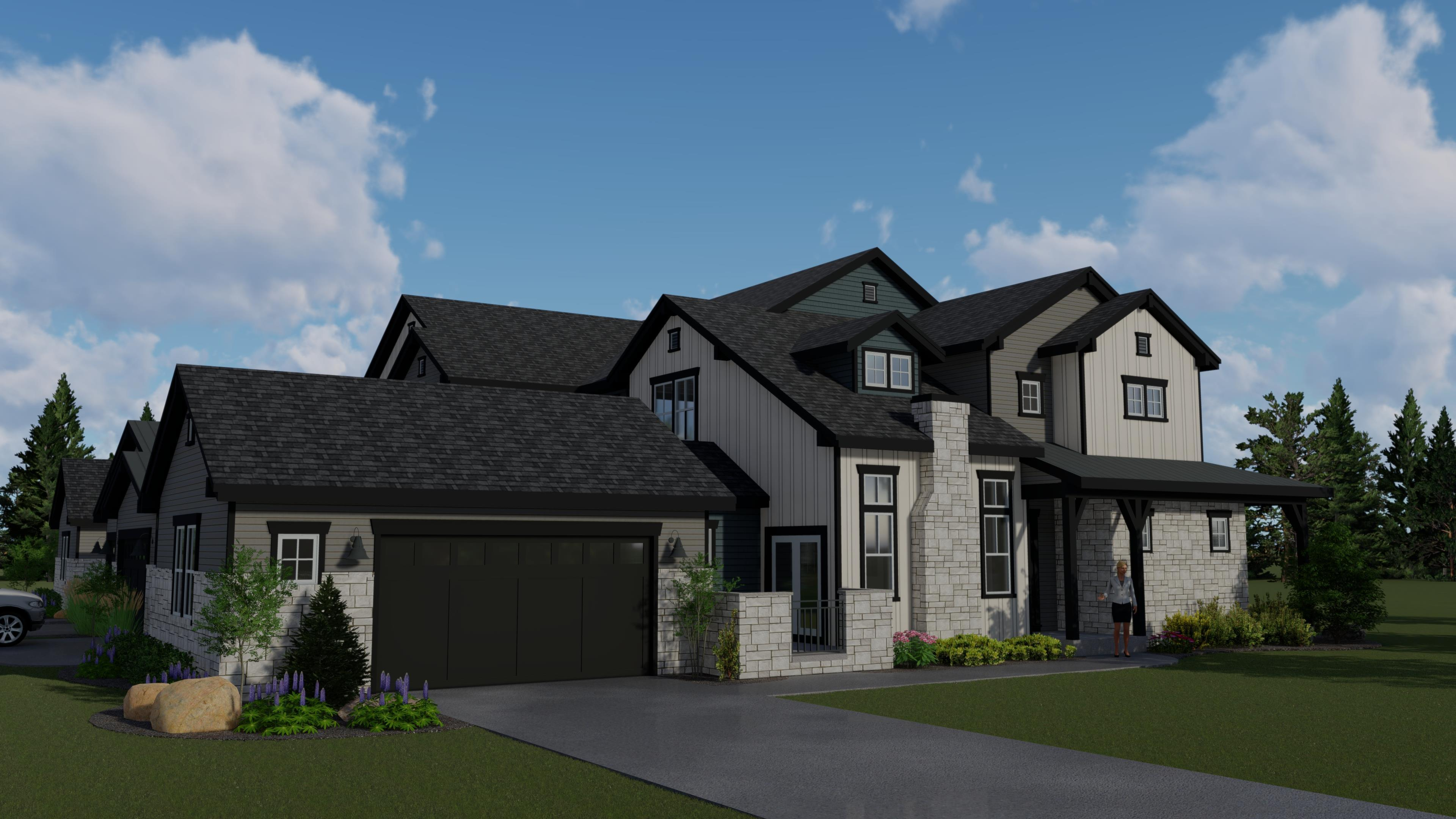 Exterior featured in the Silverdale By Landmark Homes  in Fort Collins-Loveland, CO