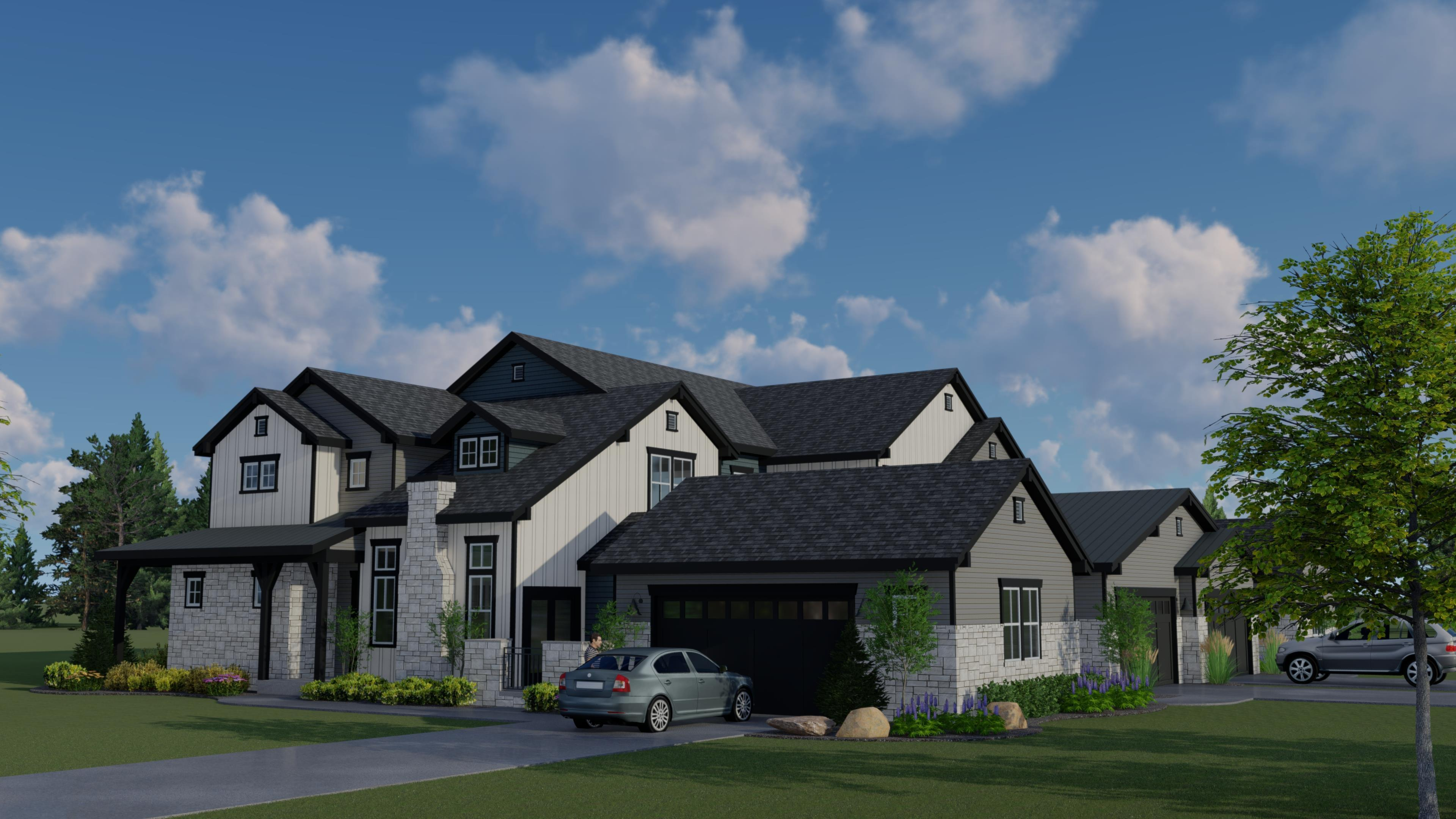 Exterior featured in the Victoria By Landmark Homes  in Fort Collins-Loveland, CO