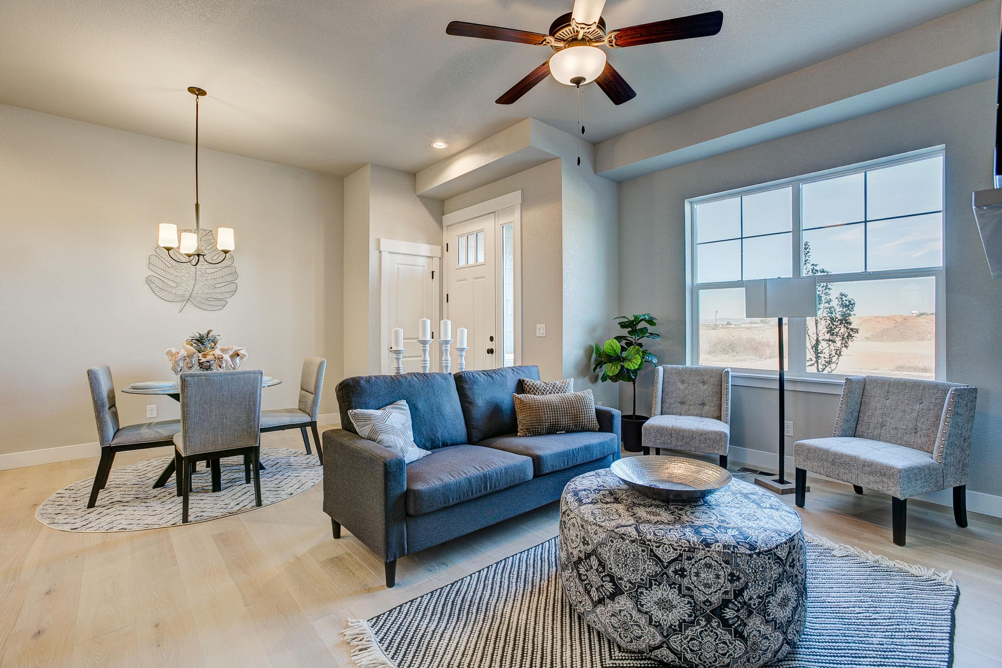 Living Area featured in the Barrington  By Landmark Homes  in Fort Collins-Loveland, CO