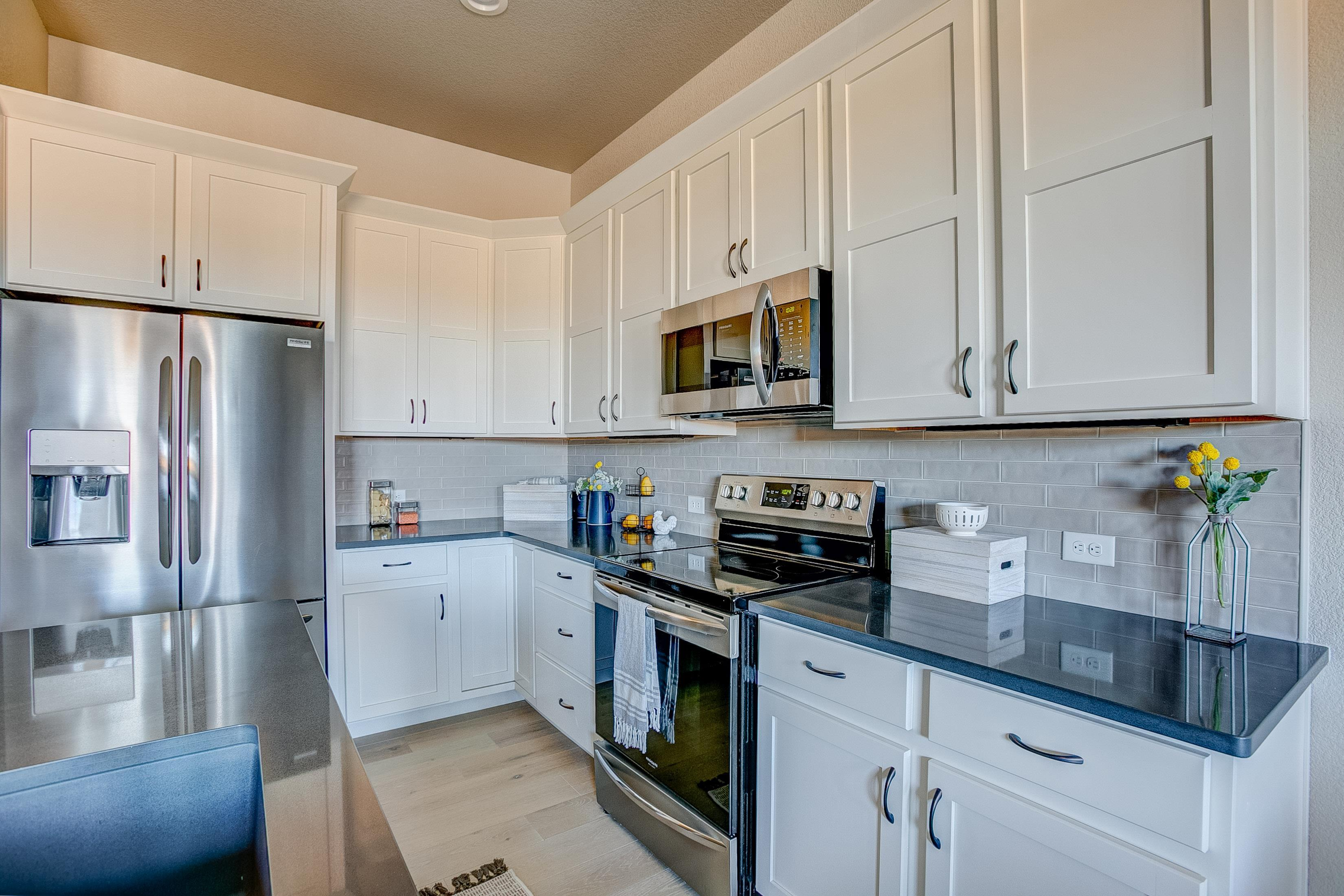 Kitchen featured in the Barrington  By Landmark Homes  in Fort Collins-Loveland, CO