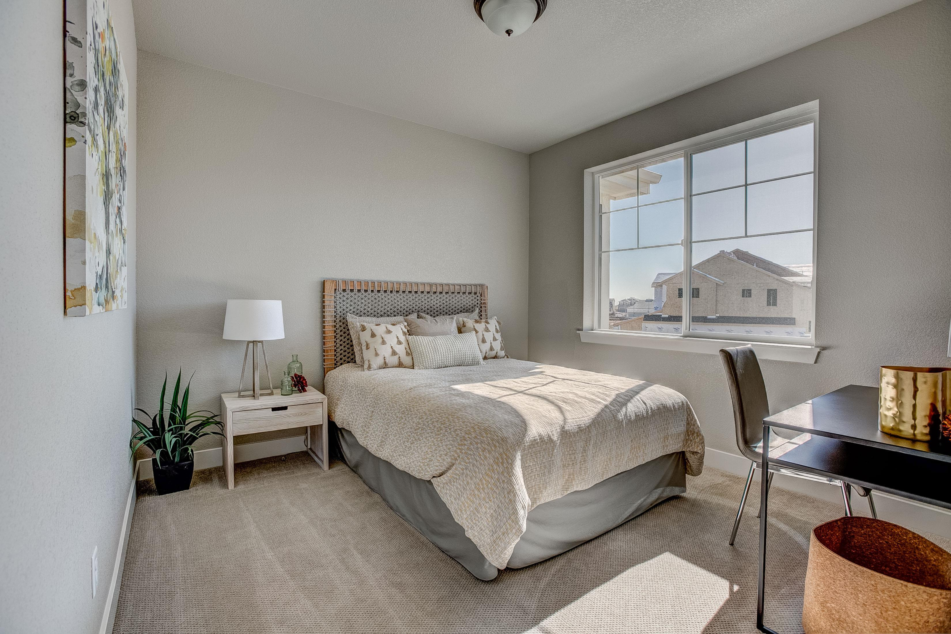 Bedroom featured in the Barrington  By Landmark Homes  in Fort Collins-Loveland, CO