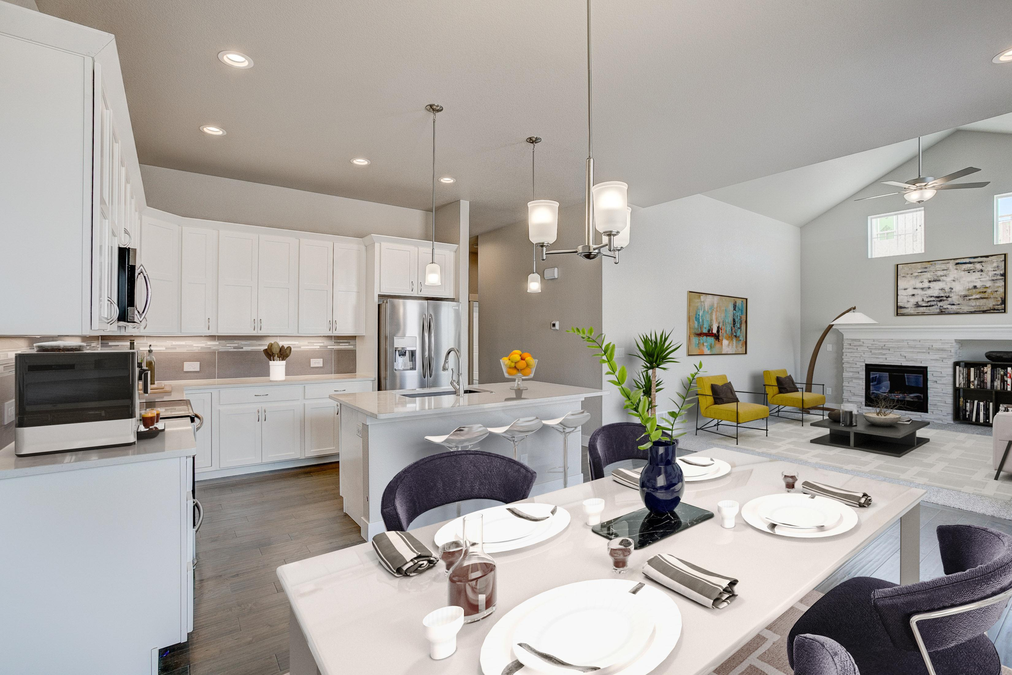 Living Area featured in the Devon By Landmark Homes  in Fort Collins-Loveland, CO
