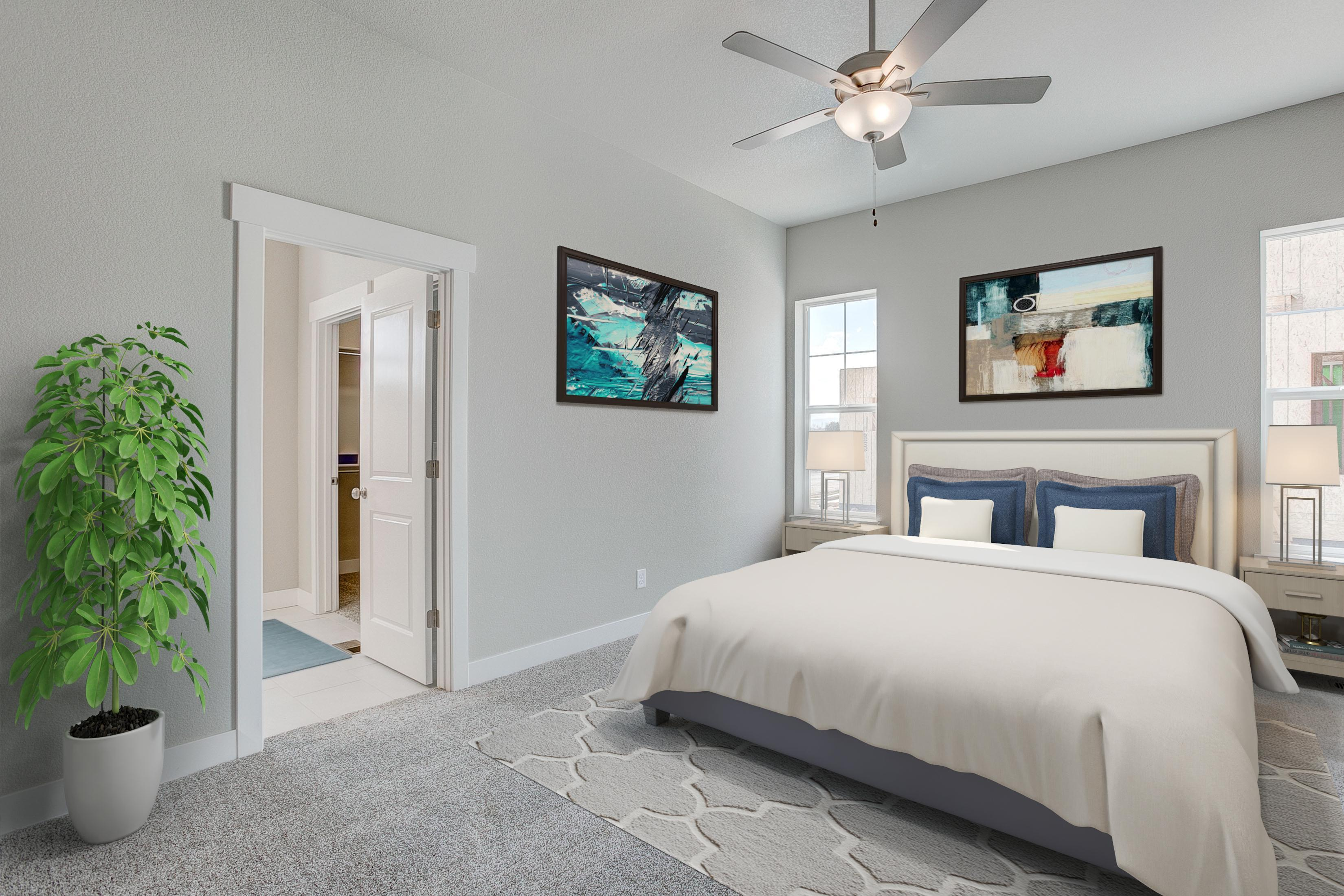 Bedroom featured in the Devon By Landmark Homes  in Fort Collins-Loveland, CO