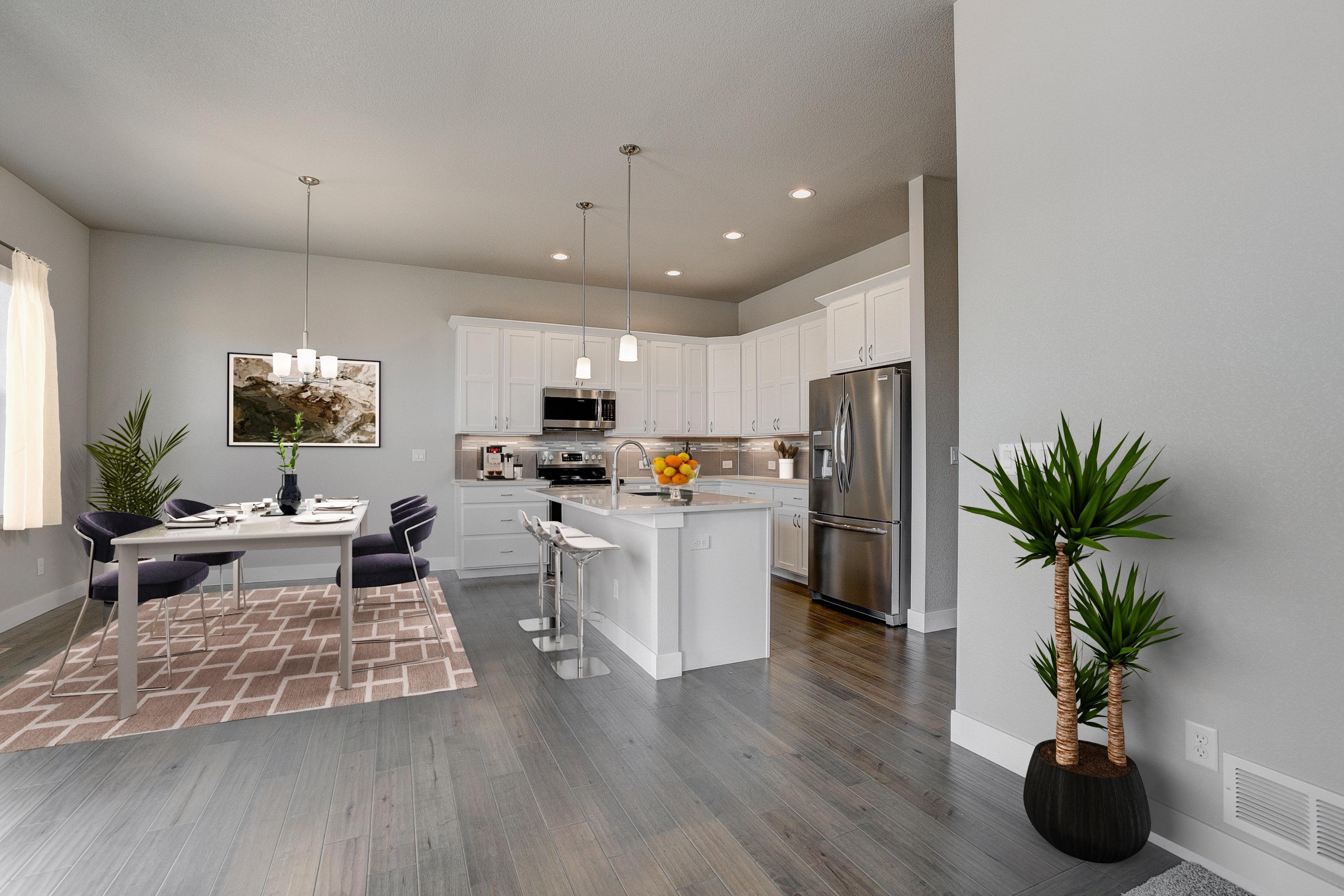 Kitchen featured in the Devon By Landmark Homes  in Fort Collins-Loveland, CO