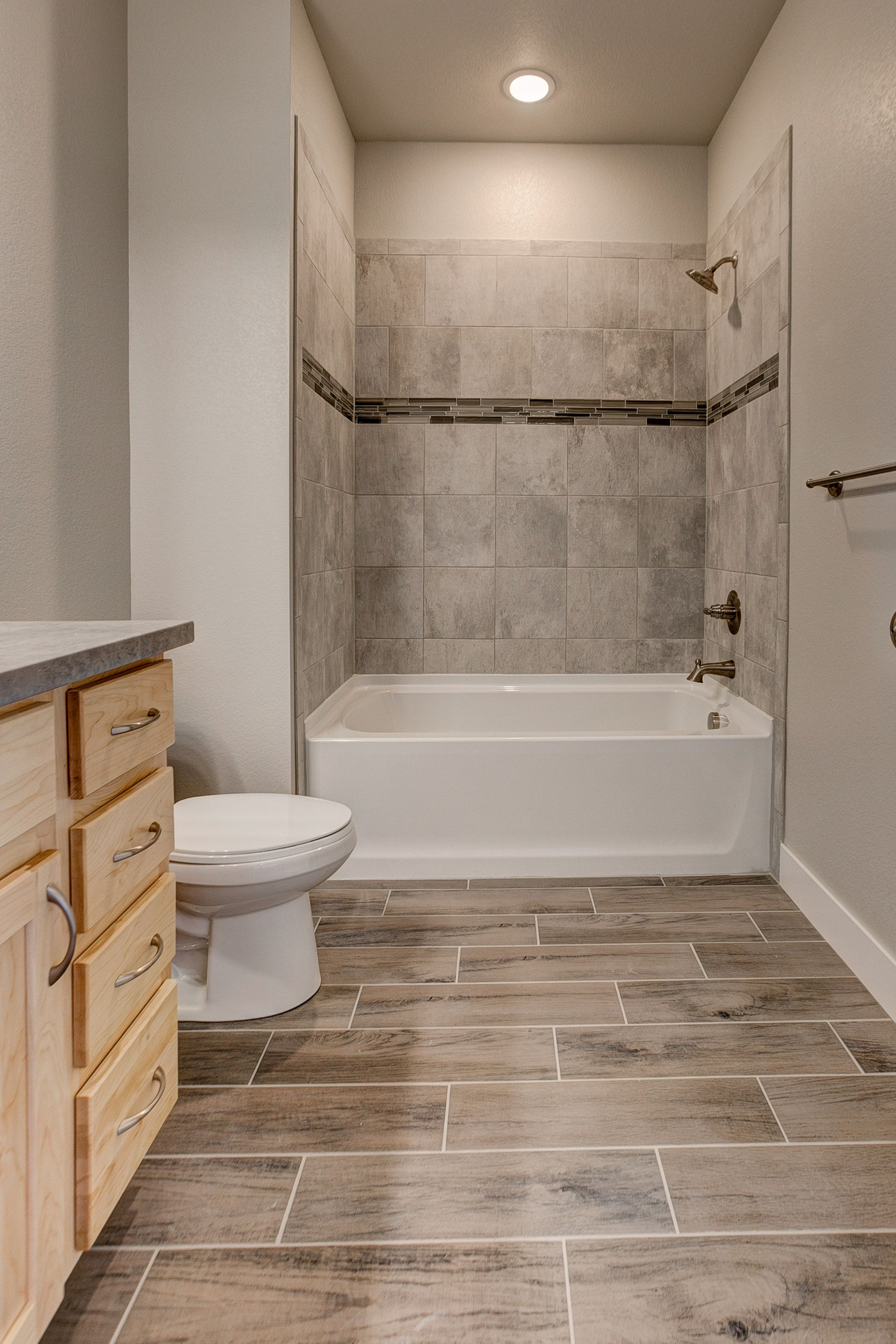 Bathroom featured in the Oxford By Landmark Homes  in Fort Collins-Loveland, CO