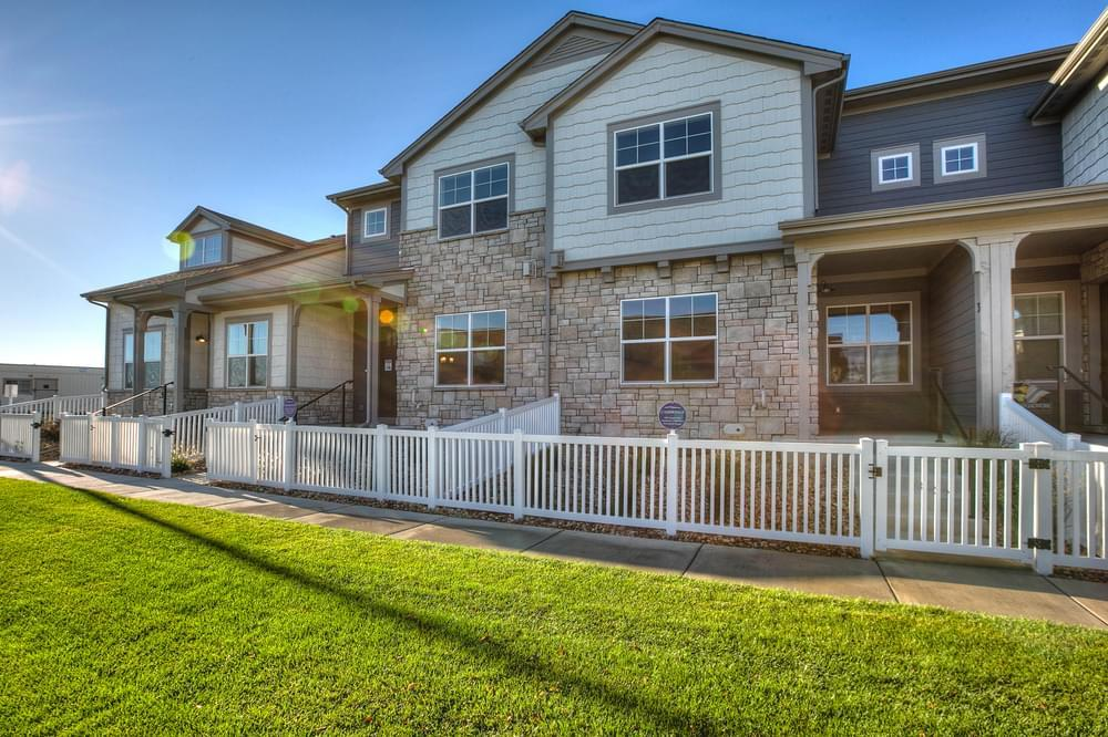 'Country Farms Village, The Towns' by Landmark Homes in Fort Collins-Loveland