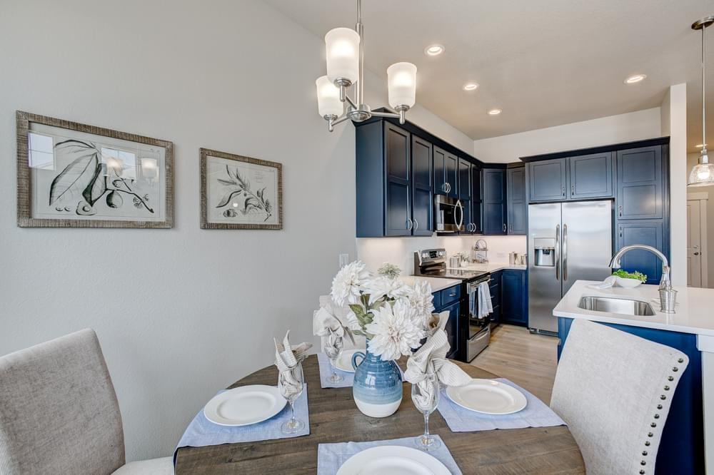 Kitchen featured in the Addison By Landmark Homes - CO in Fort Collins-Loveland, CO