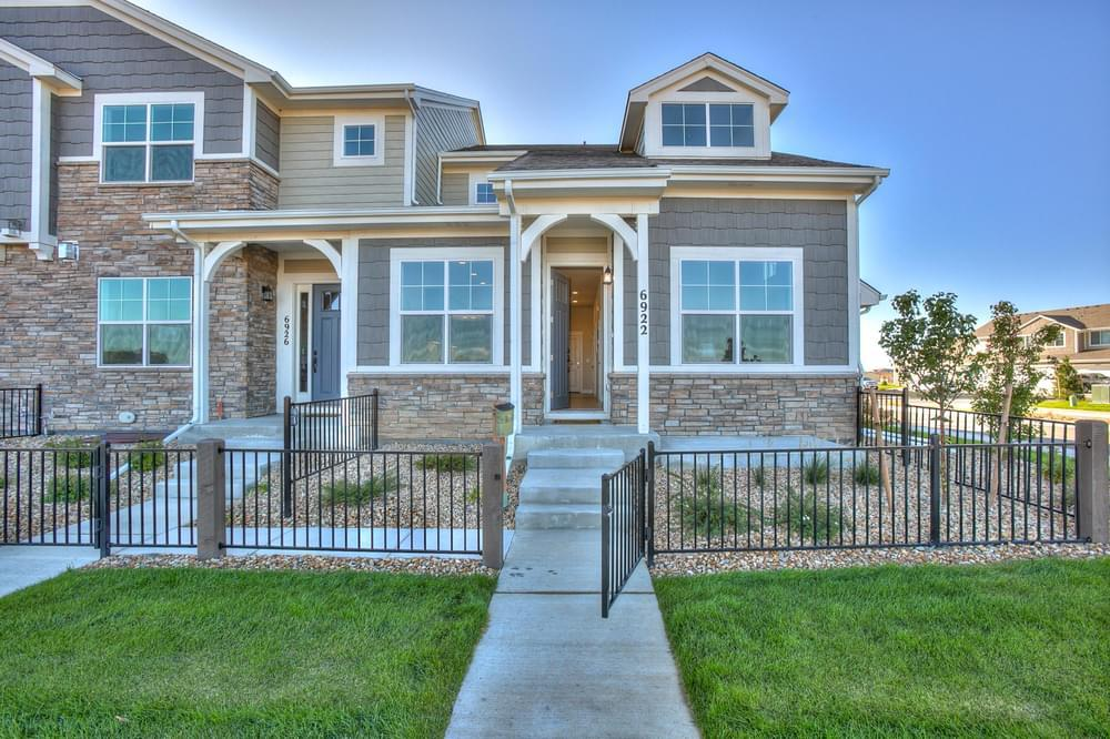 Exterior featured in the Addison By Landmark Homes - CO in Fort Collins-Loveland, CO