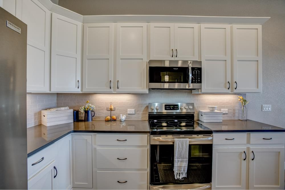 Kitchen featured in the Barrington By Landmark Homes - CO in Fort Collins-Loveland, CO