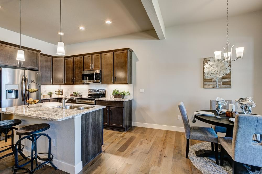 Kitchen featured in the Camden By Landmark Homes - CO in Fort Collins-Loveland, CO
