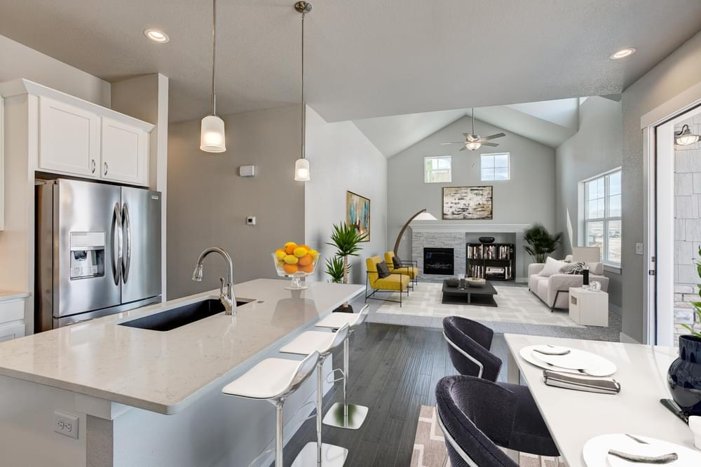 Kitchen featured in the Devon By Landmark Homes - CO in Fort Collins-Loveland, CO