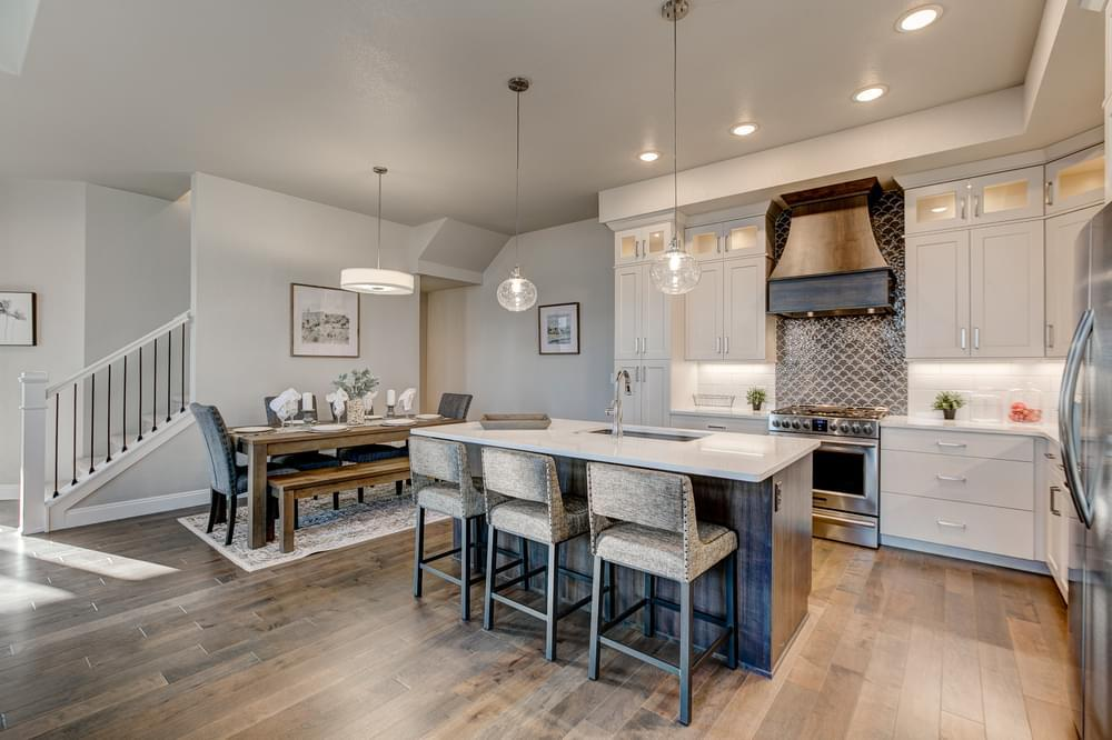 Kitchen featured in the Silverdale By Landmark Homes - CO in Fort Collins-Loveland, CO