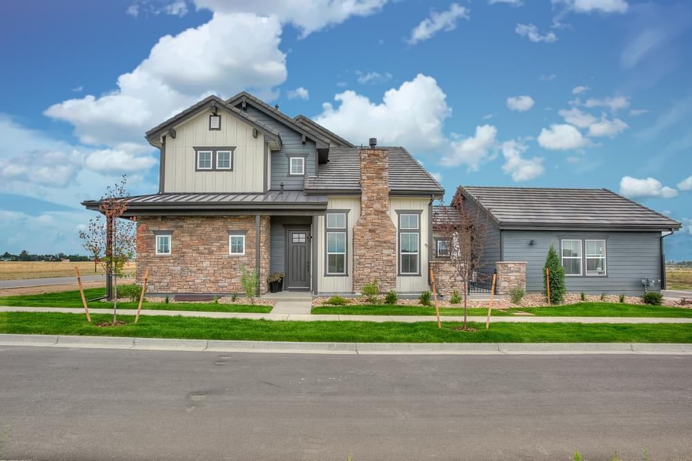 'Heron Lakes Townhomes at TPC Colorado Golf Course' by Landmark Homes in Fort Collins-Loveland
