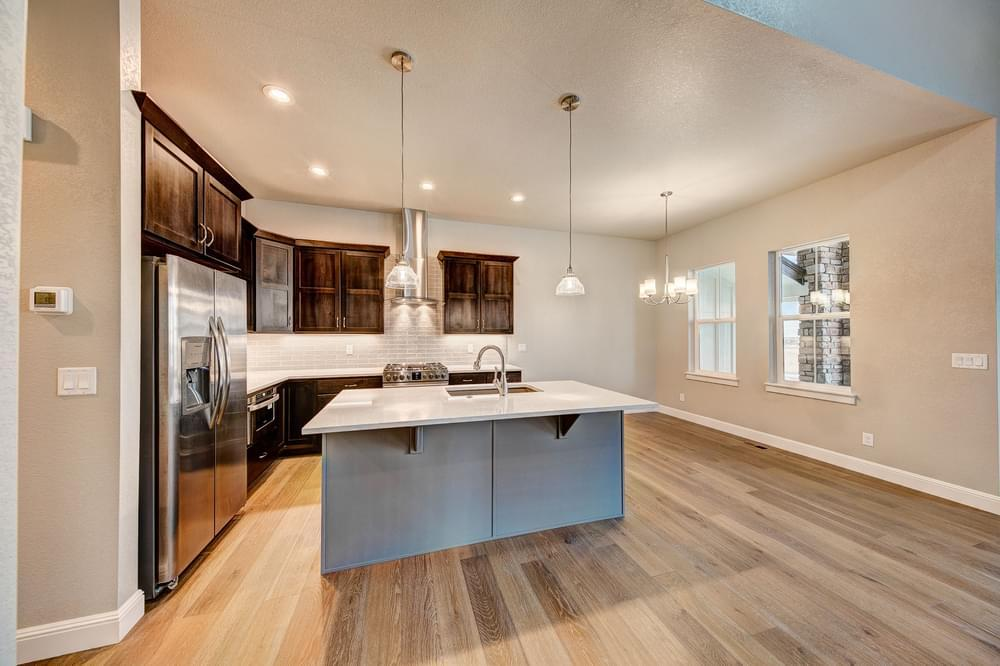 Kitchen featured in the Avalon By Landmark Homes - CO in Greeley, CO