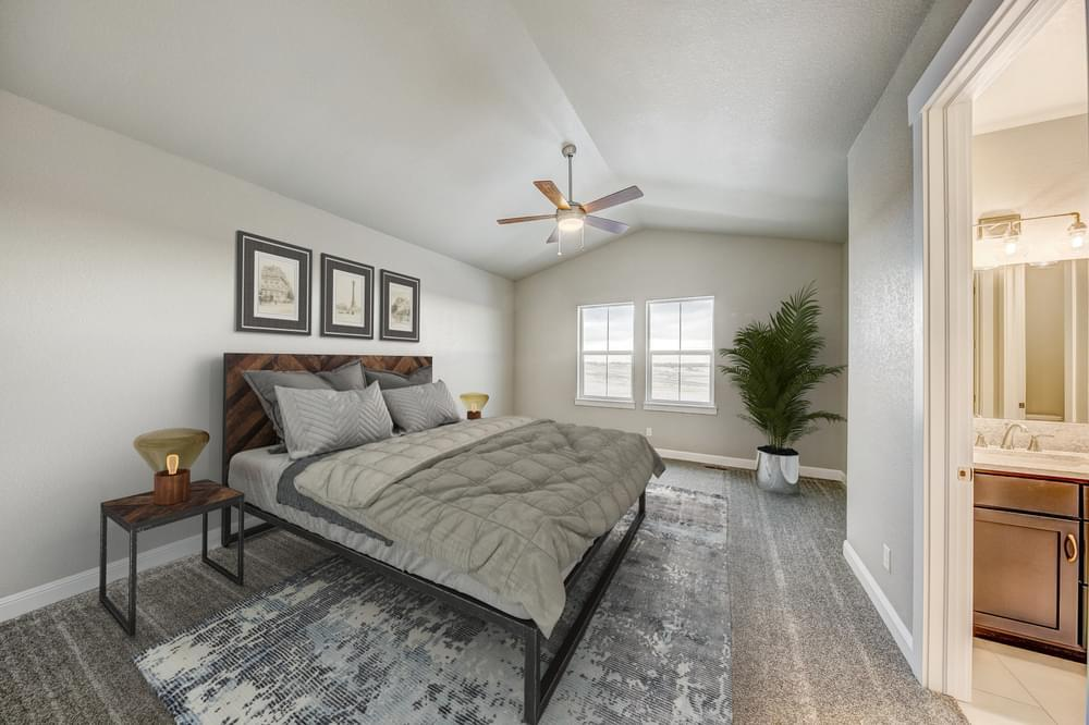 Bedroom featured in the Carolina By Landmark Homes - CO in Fort Collins-Loveland, CO