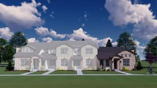 Duxbury - Heron Lakes Townhomes at TPC Colorado Golf Course: Berthoud, Colorado - Landmark Homes - CO