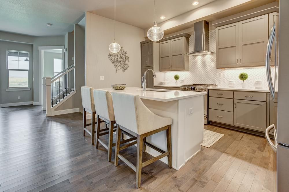 Kitchen featured in the Valencia By Landmark Homes - CO in Fort Collins-Loveland, CO