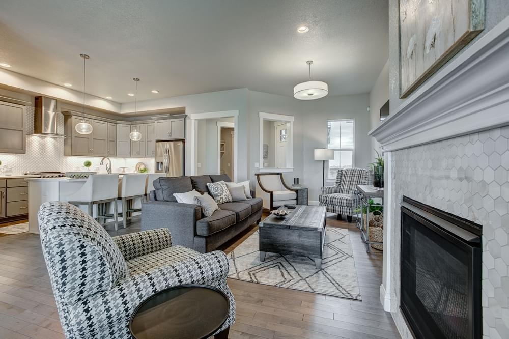 Living Area featured in the Valencia By Landmark Homes - CO in Fort Collins-Loveland, CO
