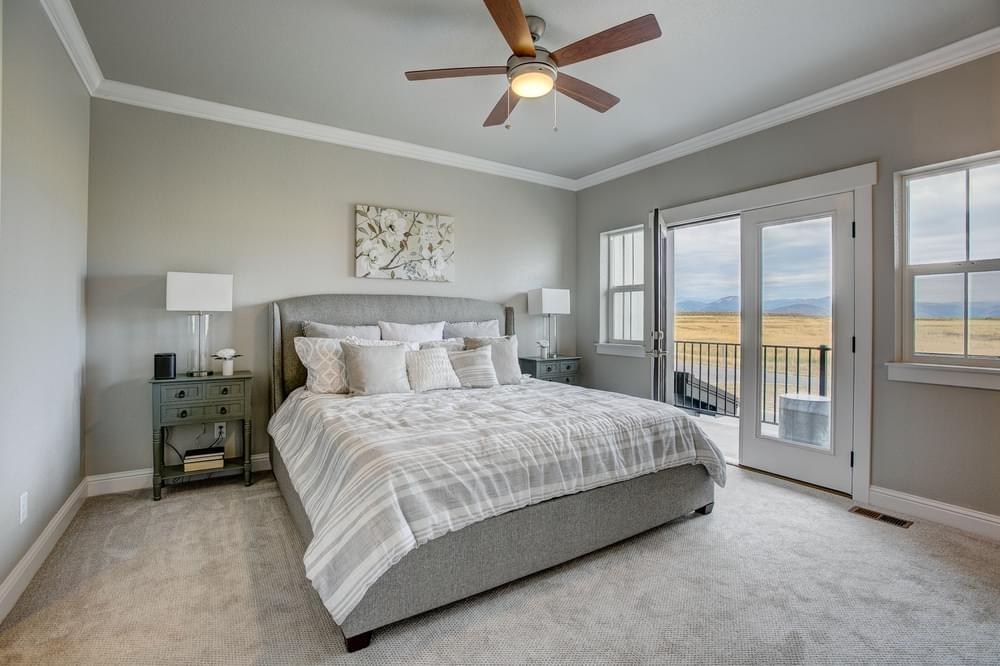 Bedroom featured in the Valencia By Landmark Homes - CO in Fort Collins-Loveland, CO