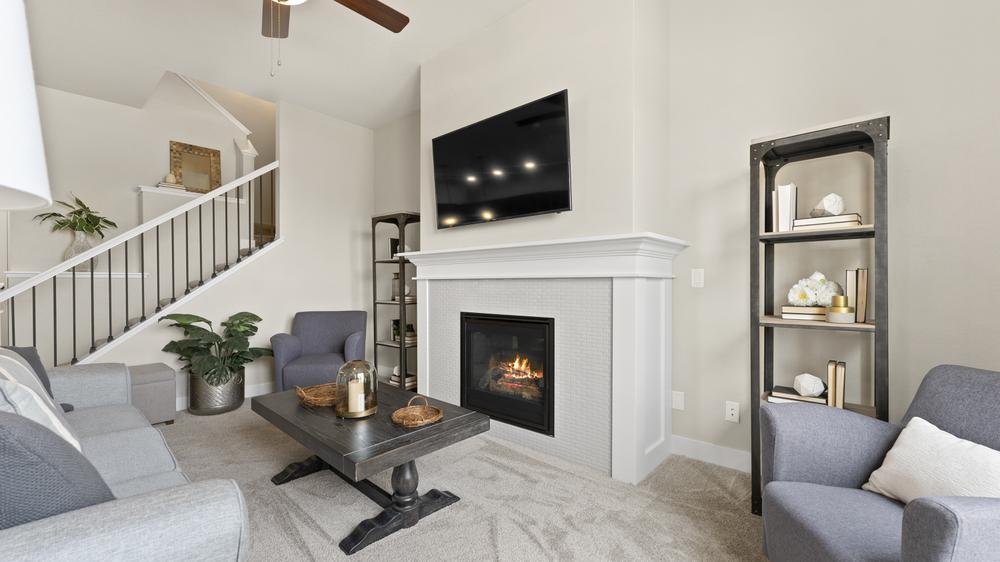 Living Area featured in the Carolina By Landmark Homes - CO in Fort Collins-Loveland, CO