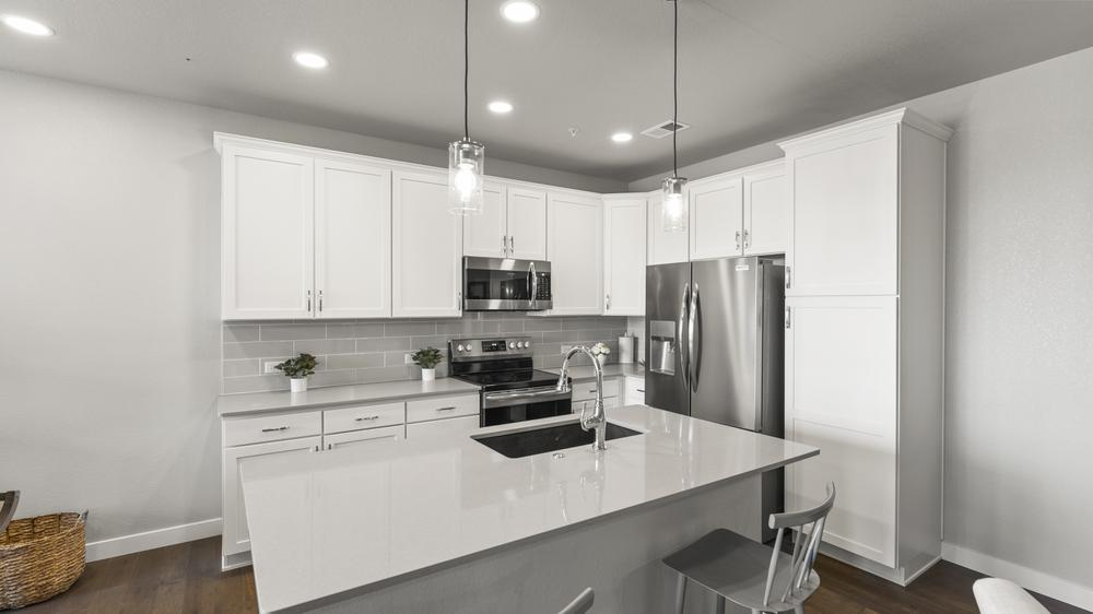 Kitchen featured in the Cascade By Landmark Homes - CO in Fort Collins-Loveland, CO