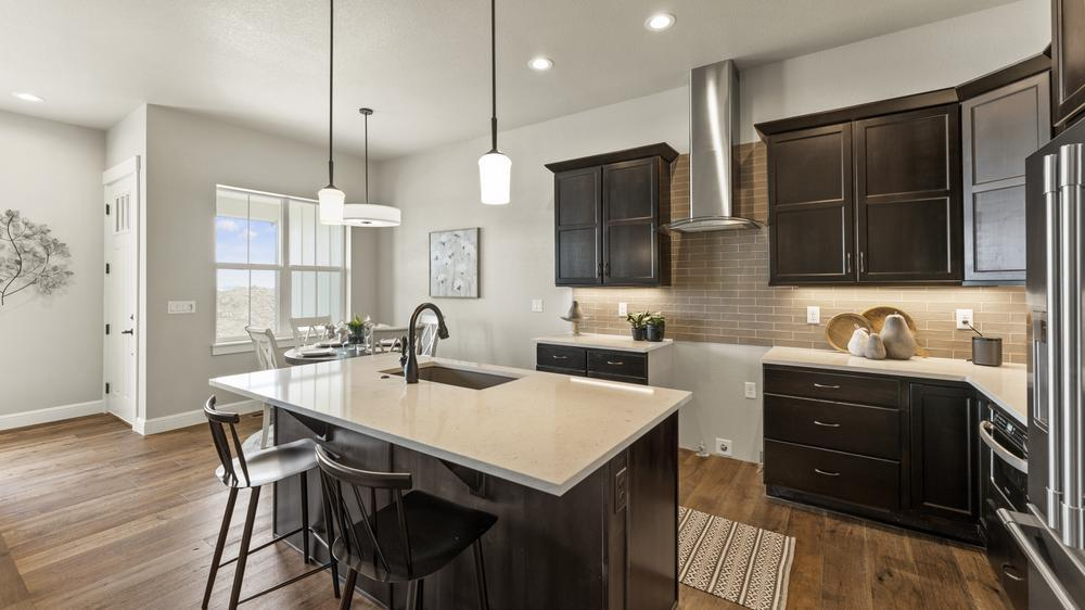 Kitchen featured in the Belmar By Landmark Homes - CO in Greeley, CO
