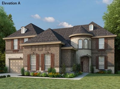 Richwoods Province In Frisco Tx New Homes Floor Plans