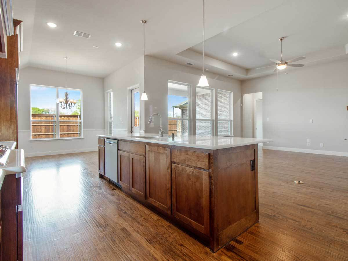 Kitchen featured in the Bradford Canyon Falls By Landon Homes in Dallas, TX