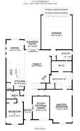 Landon Collection - Edgestone at Legacy: Frisco, Texas - Landon Homes