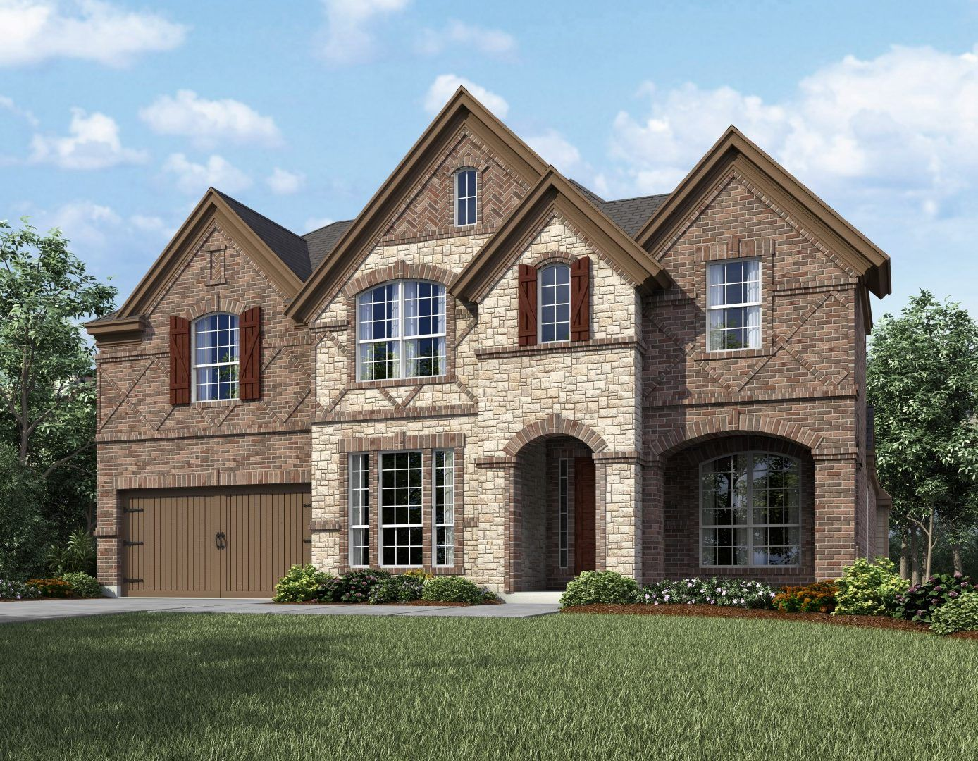 Exterior featured in the Southlake Collection By Landon Homes in Dallas, TX