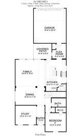 Orchid Collection - Magnolia Landing: Rowlett, Texas - Landon Homes