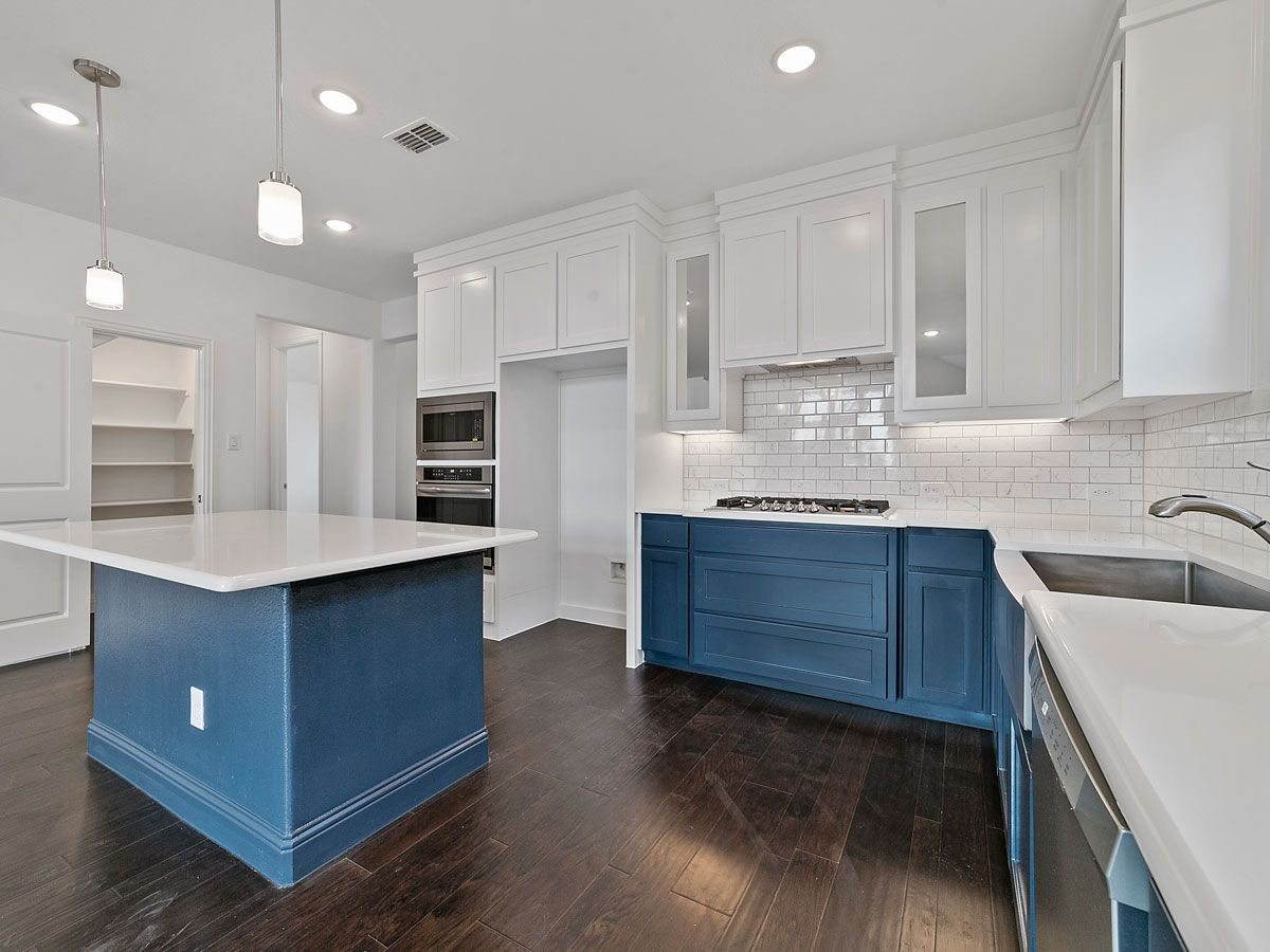 Kitchen featured in the Orchard Collection By Landon Homes in Dallas, TX