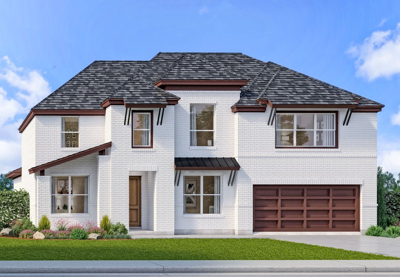 Exterior featured in the Corringham Collection By Landon Homes in Dallas, TX