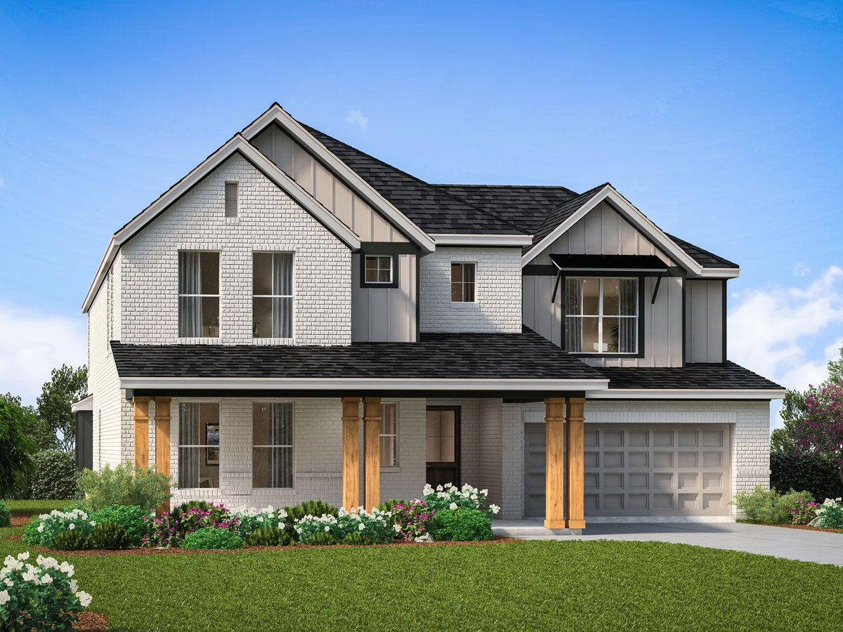 Exterior featured in the Middleton Collection By Landon Homes in Dallas, TX