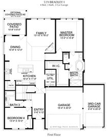 Bradley Collection - Magnolia Landing Craftsman Homes 60's: Rowlett, Texas - Landon Homes
