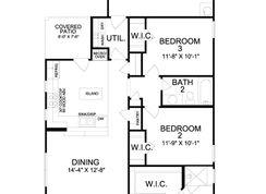 Bluebonnet Collection - Magnolia Landing Cottage 40's: Rowlett, Texas - Landon Homes