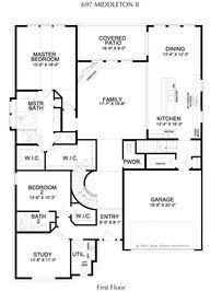 Middleton Collection - Lexington Country Classic Series: Frisco, Texas - Landon Homes