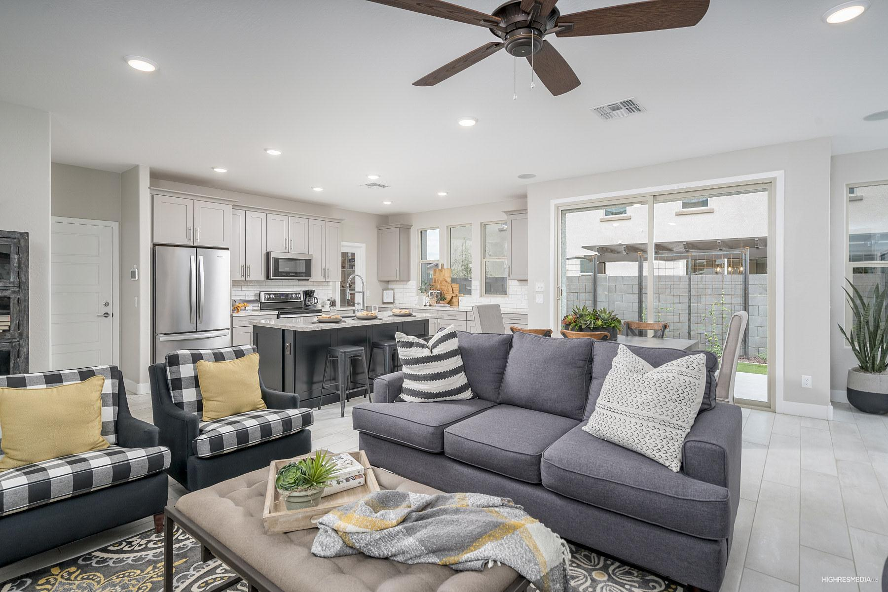 Living Area featured in the Millennial By Landsea Homes in Phoenix-Mesa, AZ