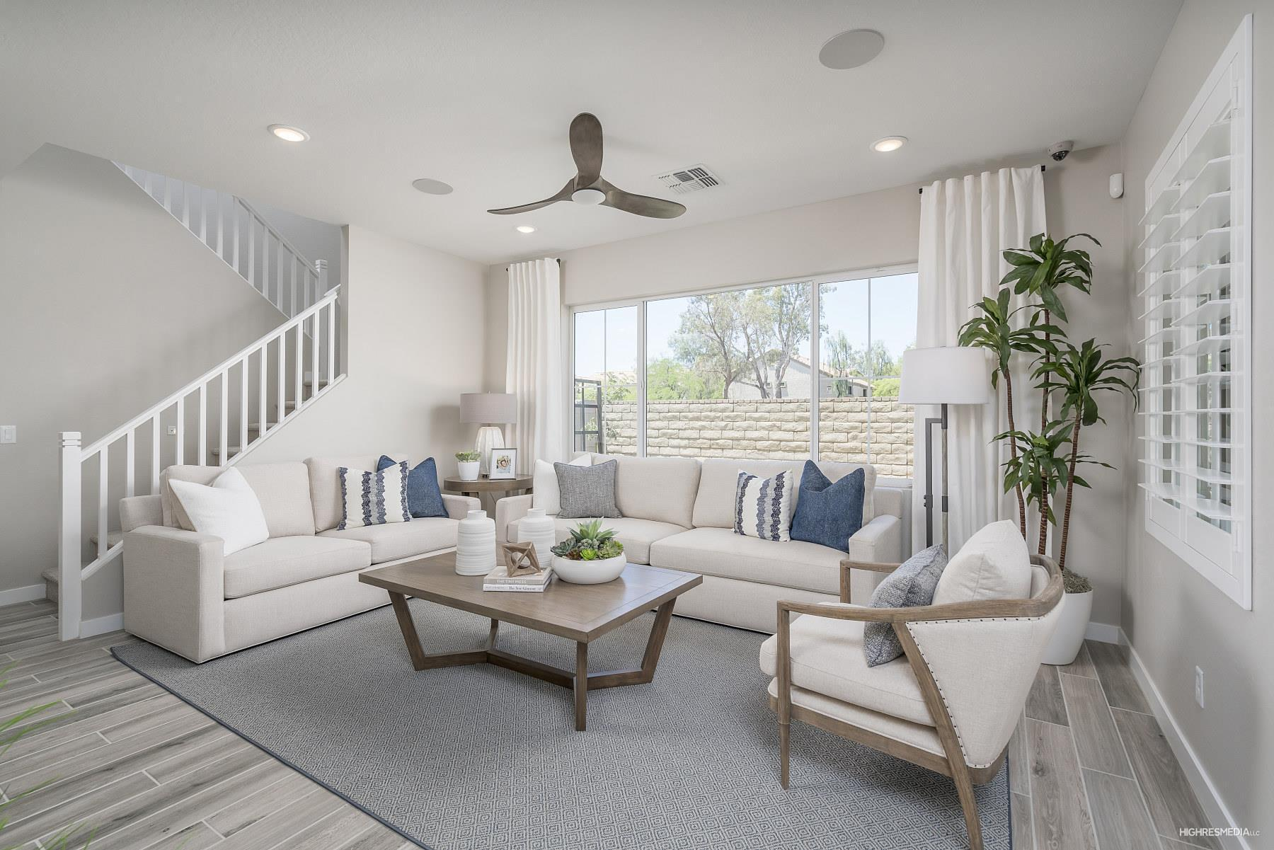 Living Area featured in the Oasis By Landsea Homes in Phoenix-Mesa, AZ