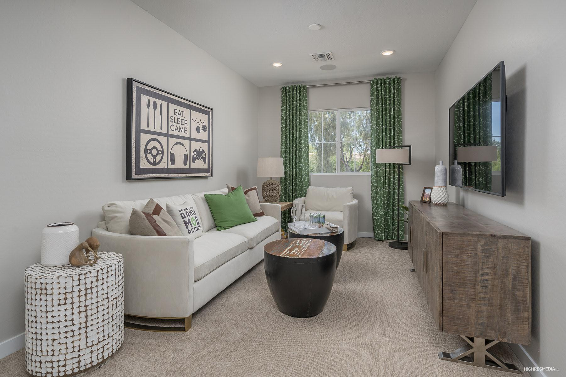 Living Area featured in the Mirage By Landsea Homes in Phoenix-Mesa, AZ