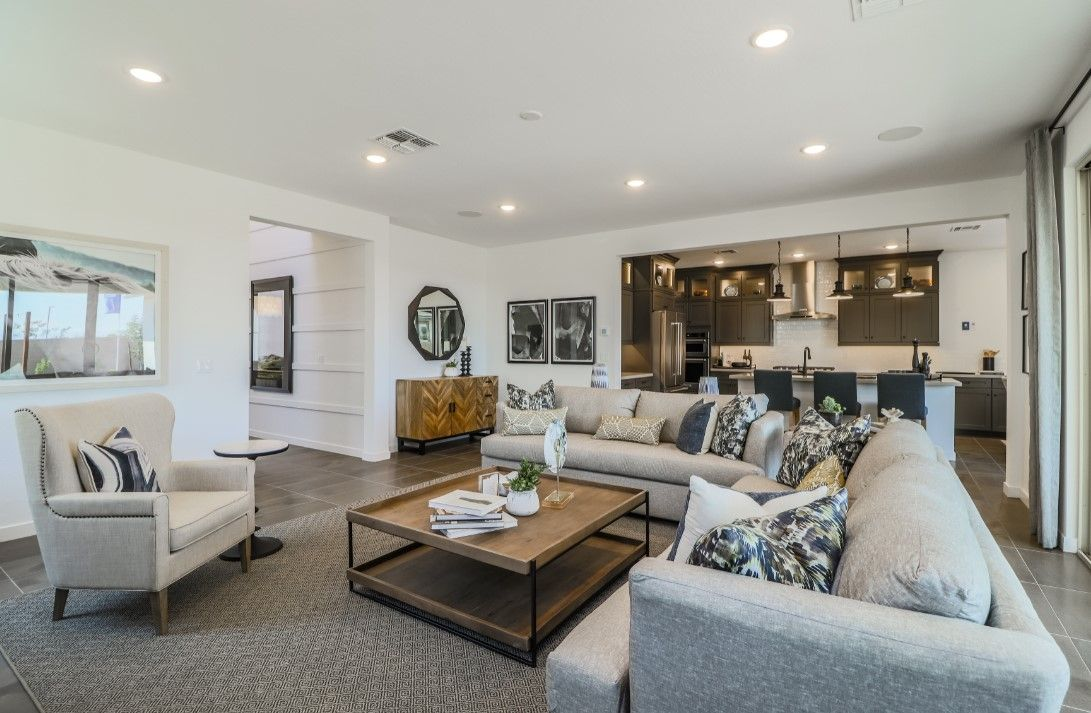 Living Area featured in the Mandarin By Landsea Homes in Phoenix-Mesa, AZ